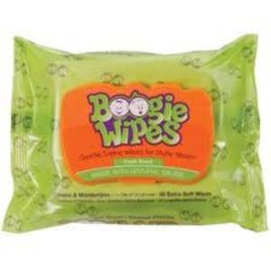 Boogie Wipes Gentle Saline Wipes - Fresh Scent