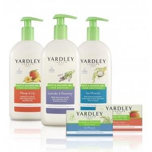 Yardley of London Skin Indulgence Bath and Shower Collection