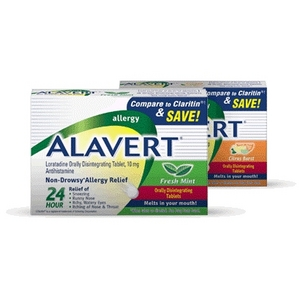Alavert Allergy Quick Dissolving Tablets