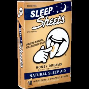 Sheets Brand Honey Dreams Natural Sleep Aid