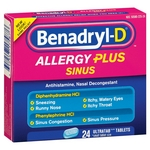 Benadryl-D Allergy Plus Sinus