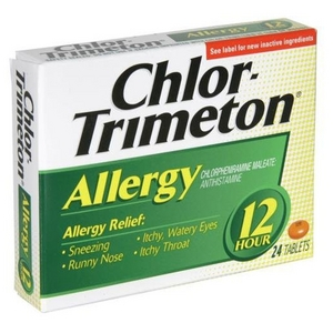 Chlor-Trimeton Allergy 12 Hour Tablets