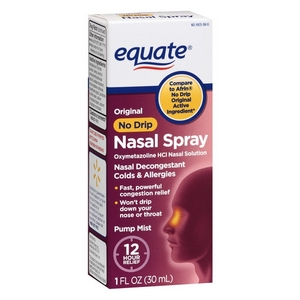 Equate No Drip 12 Hour Nasal Spray