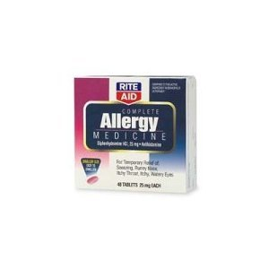 Rite Aid Complete Allergy Medication Tablets