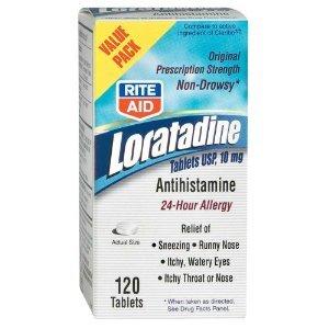 Rite Aid Loratadine Antihistamine Tablets