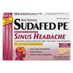 Sudafed PE Sinus Headache Medicine