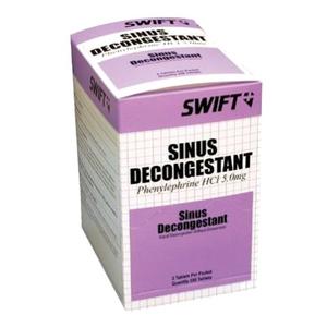Swift Sinus Decongestant Tablets