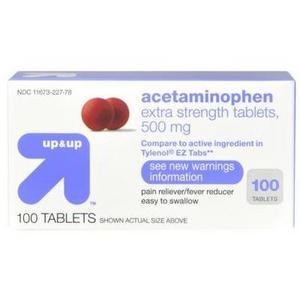 up & up Extra-Strength Acetaminophen