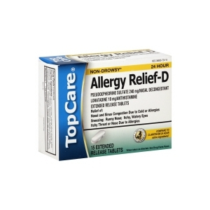 TopCare Allergy Relief-D
