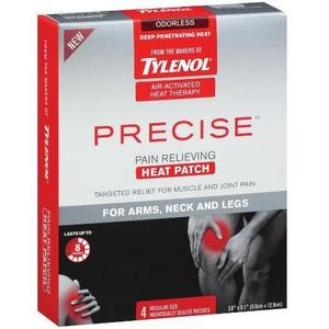 Tylenol Precise Pain Relieving Heat Patches