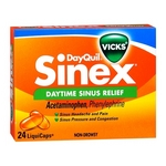 Vicks DayQuil Sinex Daytime Sinus Relief Liquicaps