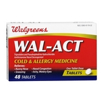 Walgreens Wal-Act Cold & Allergy Medicine