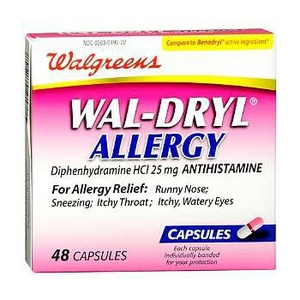 Is wal-dryl the same as benadryl