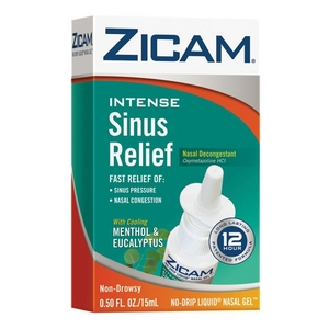 Zicam Intense Sinus Relief Nasal Gel