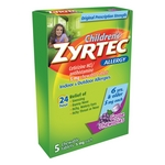 Zyrtec Children's Chewable Tablets