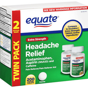 Equate Extra Strength Headache Relief