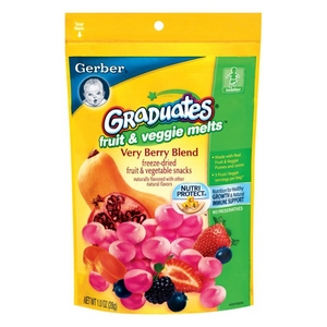 Gerber Graduates Fruit & Veggie Melts