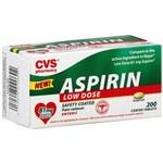 CVS Low Strength Aspirin
