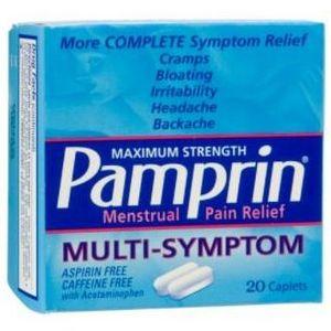 Pamprin Multi-Symptom Menstrual Pain Relief
