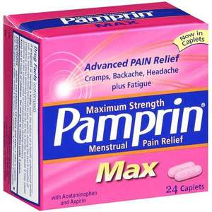 Pamprin Max - Maximum Strength Menstrual Pain Relief