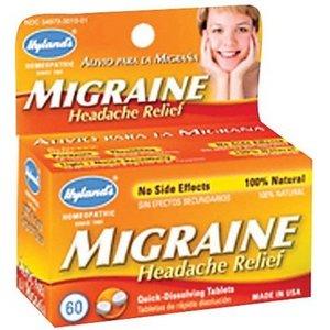 Hyland Homeopathic Migraine Headache Relief