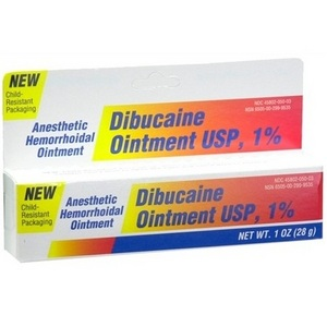 Dibucaine Anesthetic Hemorrhoidal Ointment