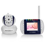 Motorola Digital Video Baby Monitor with Color LCD Screen MBP33