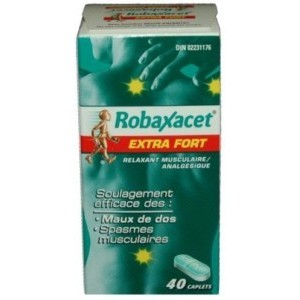 Robax Robaxacet Extra Strength Back Pain Relief