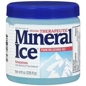 Mineral Ice Original Therapeutic Pain Relieving Gel