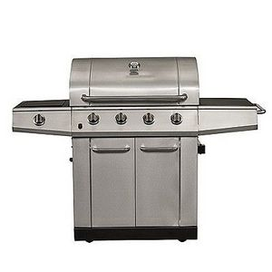 Kenmore 4-Burner LP Grill with Steamer 16135