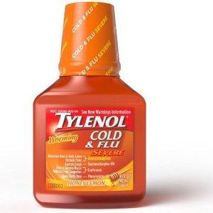 Tylenol Cold & Flu Severe Liquid Medicine