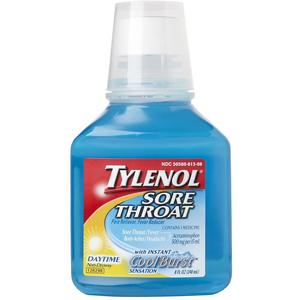Tylenol Cold Sore Throat