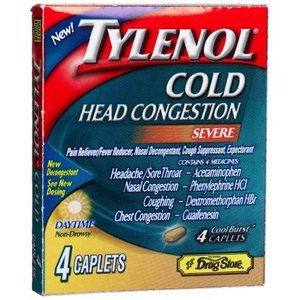 Tylenol Cold Head Congestion Severe