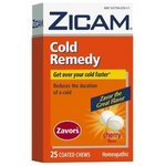 Zicam Cold Remedy Zavors