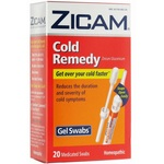 Zicam Cold Remedy Gel Swabs