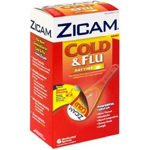 Zicam Cold & Flu Daytime Medicated Spoons