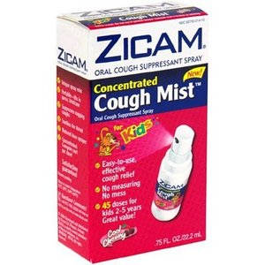 Zicam Concentrated Cough Mist for Kids
