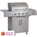 Perfect Flame 4-Burner Propane Grill 2518SL-LPG