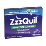 Vicks ZzzQuil Nighttime Sleep-Aid LiquiCaps