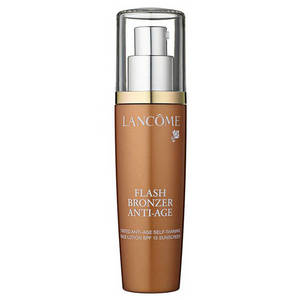Lancome Flash Bronzer Tinted Anti Age Self Tanning Face Lotion SPF 15