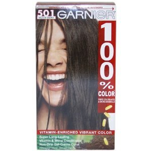 Garnier 100% Color Permanent Intense Gel Cream Color