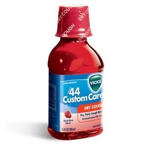 Vicks Formula 44 Custom Care Dry Cough Suppressant