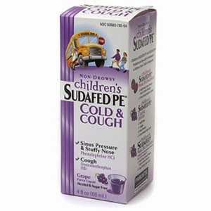 Sudafed PE Children's Cold & Cough