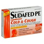 Sudafed PE Cold + Cough