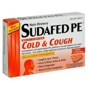 Sudafed PE Cold + Cough