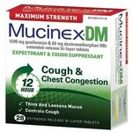 Mucinex DM Maximum Strength Expectorant & Cough Suppressant