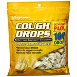 Walgreens Cough Drops Honey-Lemon Flavored