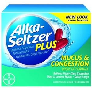 Alka-Seltzer Plus Mucus & Congestion