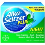 Alka-Seltzer Plus Night Cold & Flu