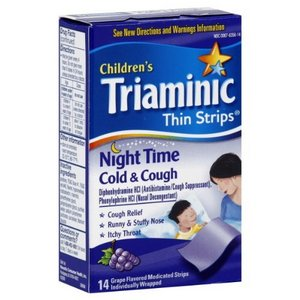 Triaminic Children's Night Time Cold & Cough Thin Strips